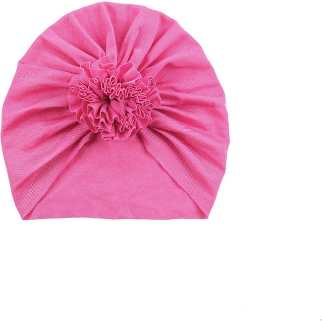Classic Rose Headwrap, Hot Pink