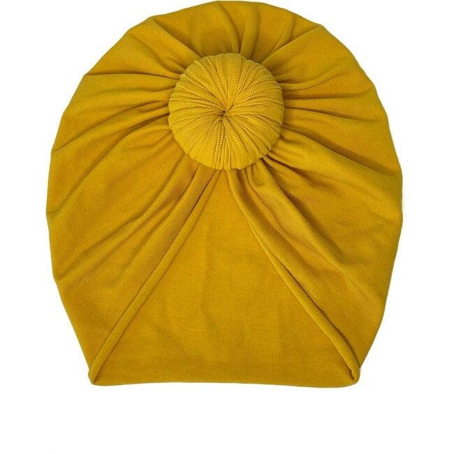 Classic Knot Headwrap, Mustard