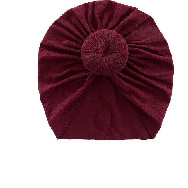 Classic Knot Headwrap, Burgundy