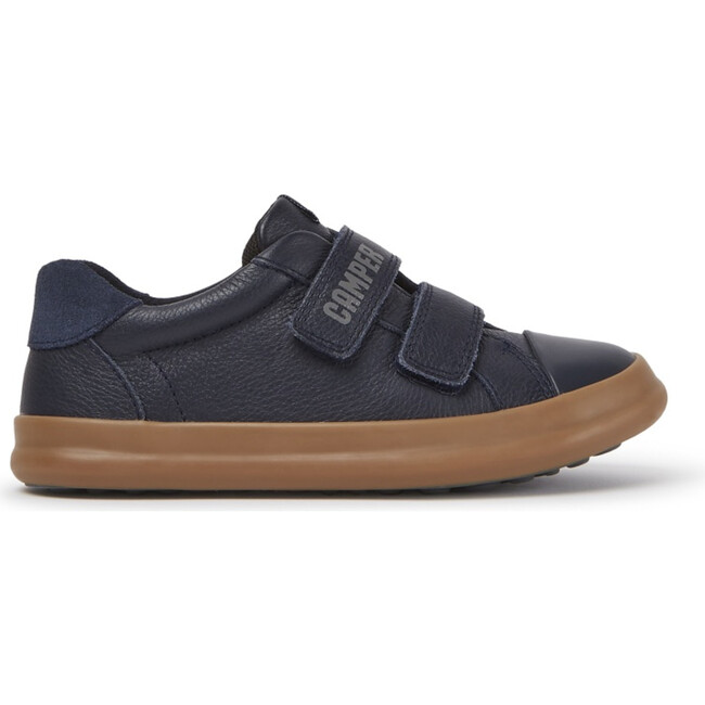 Kids Pursuit Leather Sneaker, Blue