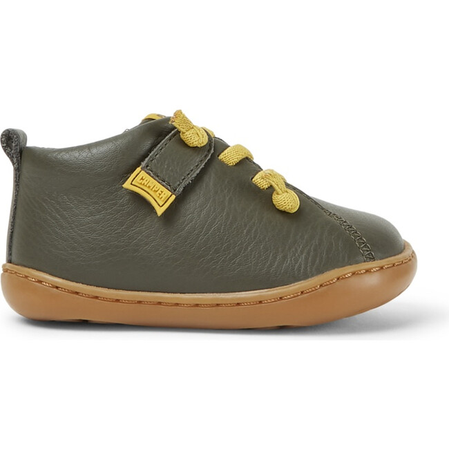 Kids Peu Cami FW Leather Boot, Green