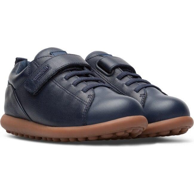 Kids Pelotas Ariel Leather Sneaker, Blue