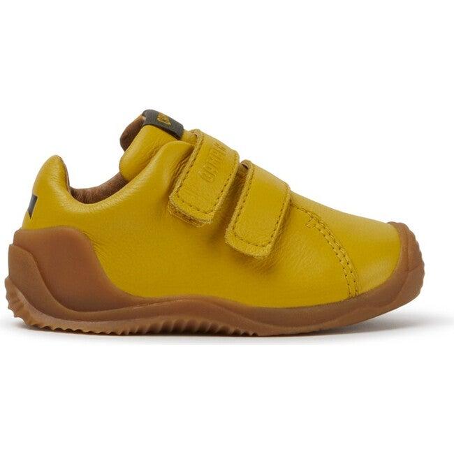 Kids Dadda FW Leather Sneaker, Yellow