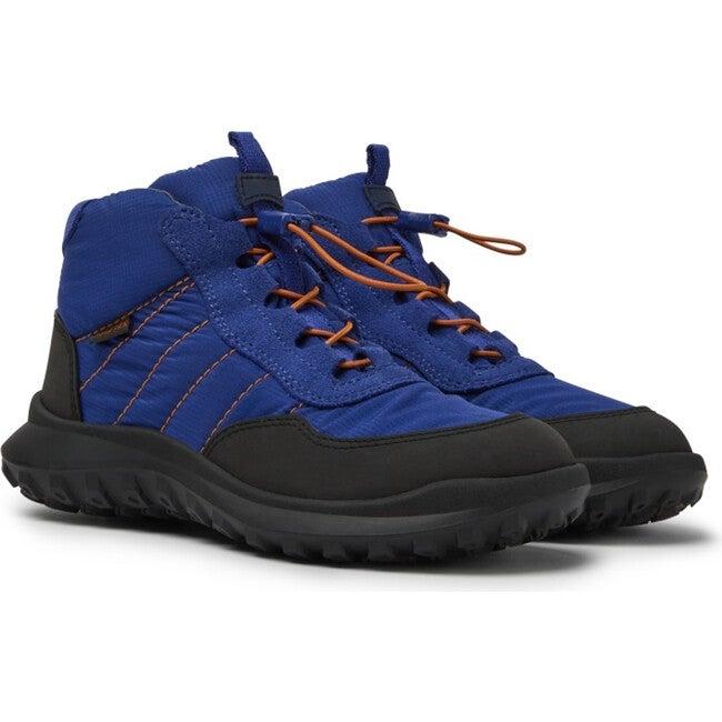 Kids CRCLR Technical Fabric Sneaker Boot, Blue