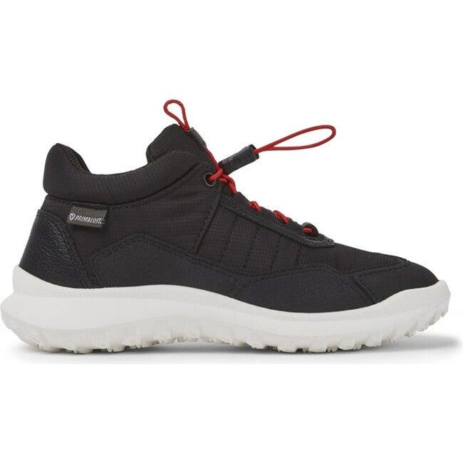Kids CRCLR Technical Fabric Sneaker, Black - Sneakers - 1