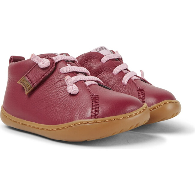 Girls Peu Cami FW Leather Boot, Pink