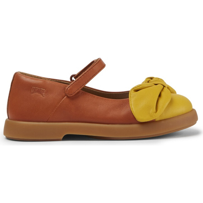 Girls Duet Leather Mary Jane, Multicolor - Sandals - 1