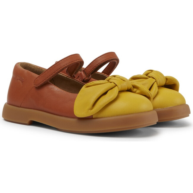 Girls Duet Leather Mary Jane, Multicolor