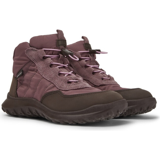 Girls CRCLR Technical Fabric Sneaker Boot, Purple