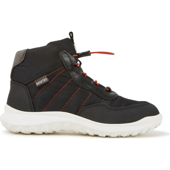 Kids CRCLR Technical Fabric Sneaker Boot, Black - Sneakers - 1