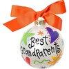 Best Grandparents Glass Ornament, White - Ornaments - 1 - thumbnail