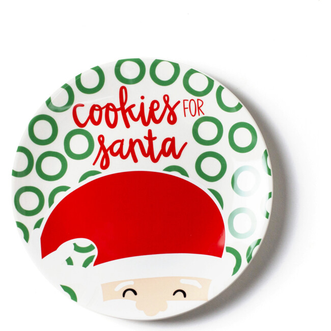 North Pole Cookies for Santa Plate, Fair Skin