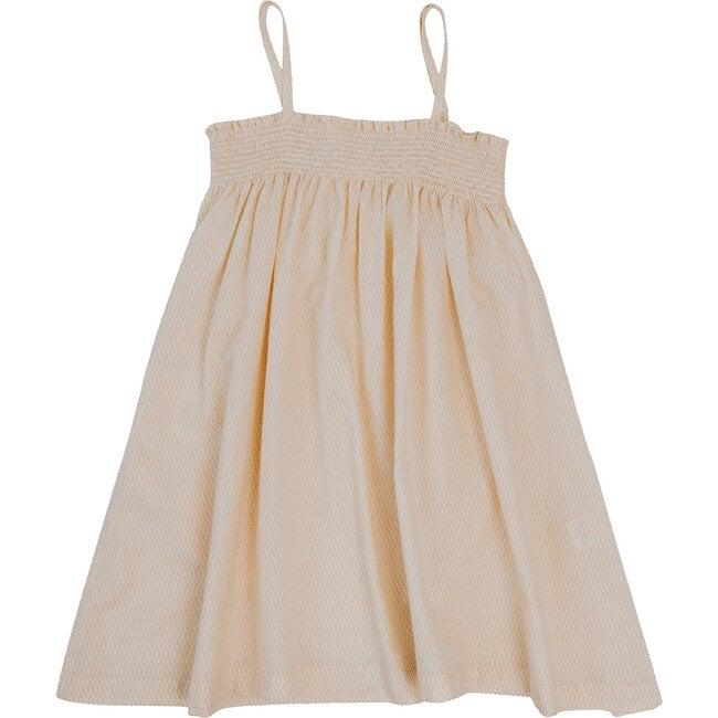 Sonny Smocked Dress, Buttercream