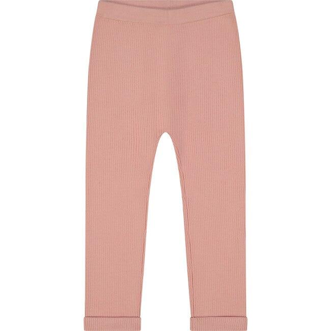 Cotton Sweater Leggings, Apricot