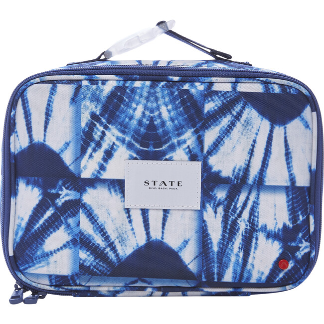 Rodgers Lunch Box, Indigo Patchwork - Lunchbags - 1