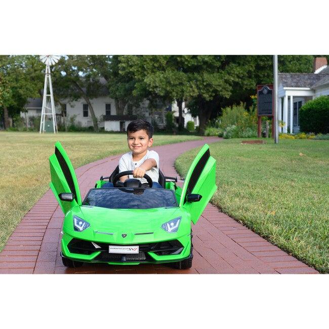 Lamborghini SVJ 12V, Green
