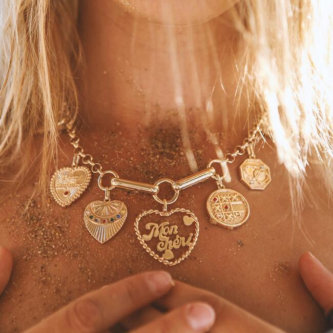 Louise Necklace, Gold