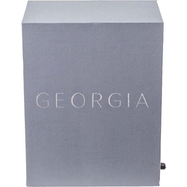 Exclusive Monogrammable Georgia Baby Keepsake Box, Slate