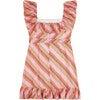 Briony Mini Cotton Dress, Stripe - Dresses - 3
