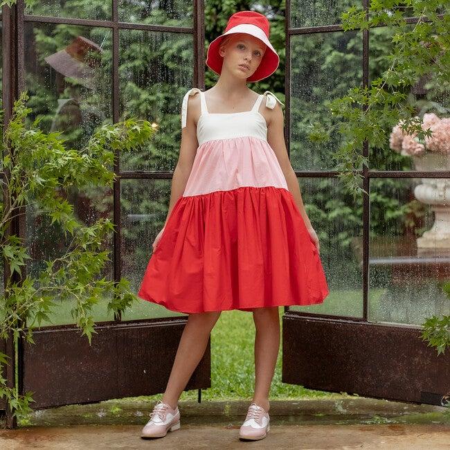 Marguerite Cotton Dress, Stripe