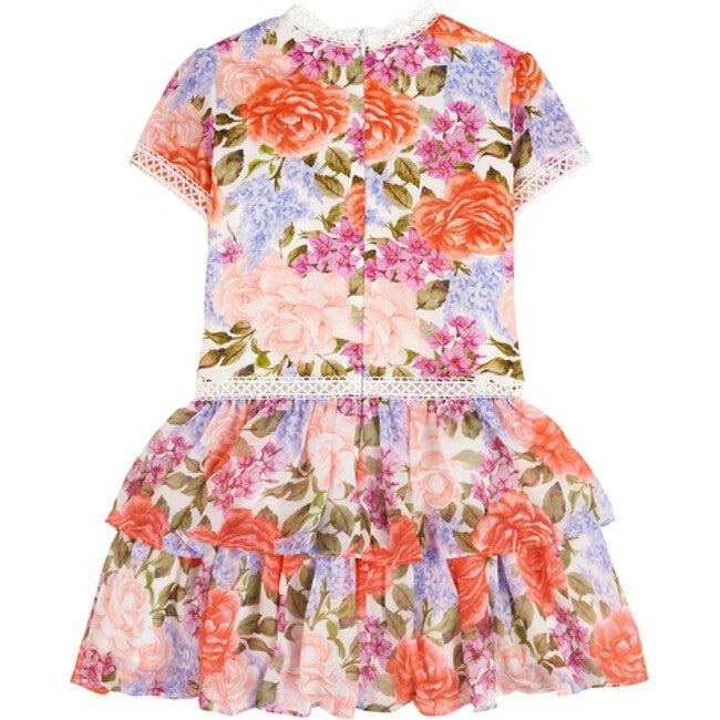 Azalea Frill Dress, Floral