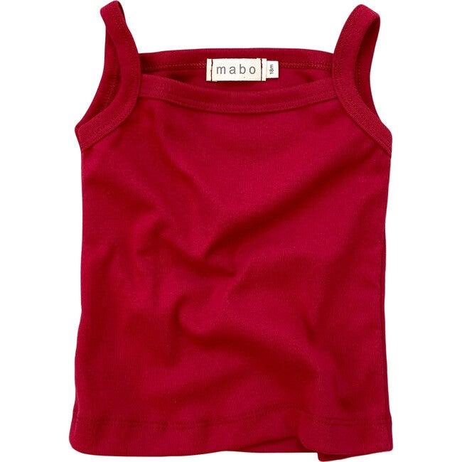 Organic Cotton Camisole, Scarlet