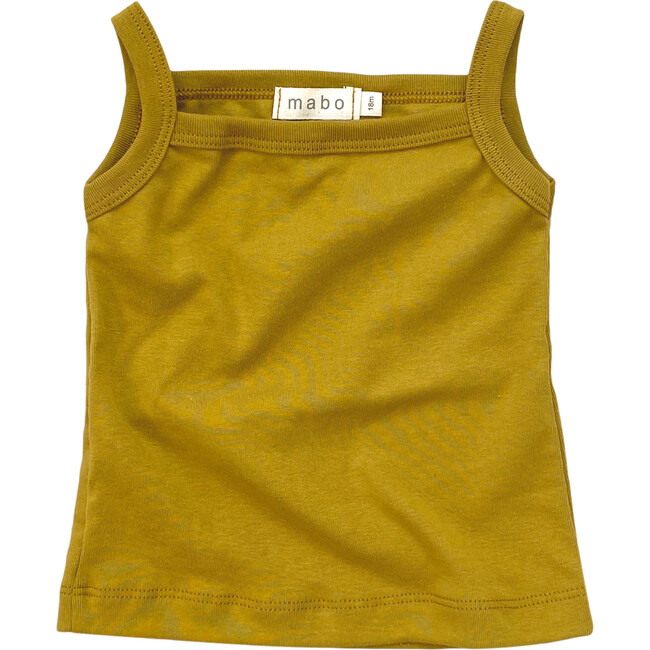 Organic Cotton Camisole, Chartreuse