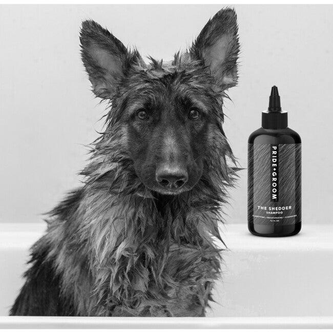 The Shedder Dog shampoo