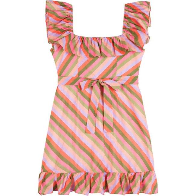 Briony Mini Cotton Dress, Stripe - Dresses - 1
