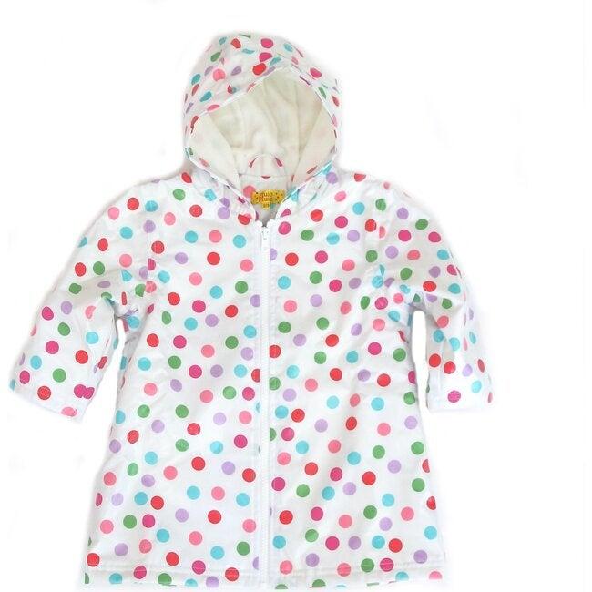 Raincoat with Lining, Polka Dot