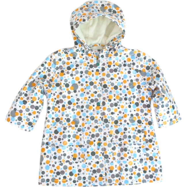 Raincoat with Lining, Multi Dot