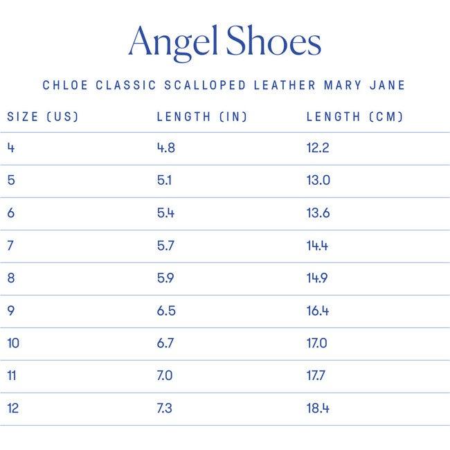 Chloe Classic Scalloped Leather Mary Jane