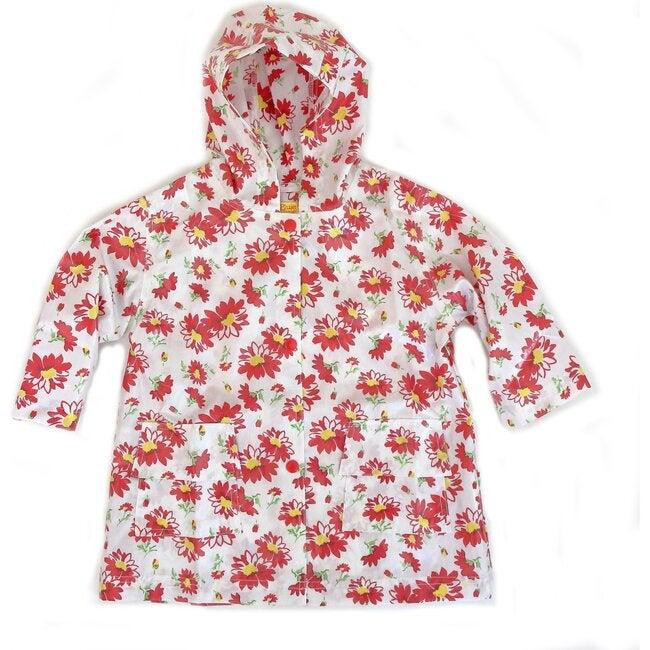 Raincoat Shell, Red Flower