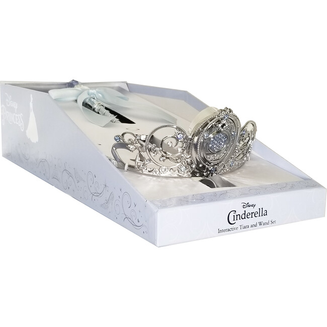 Disney Cinderella Limited Edition Light Up Wand and Tiara Accessory Set