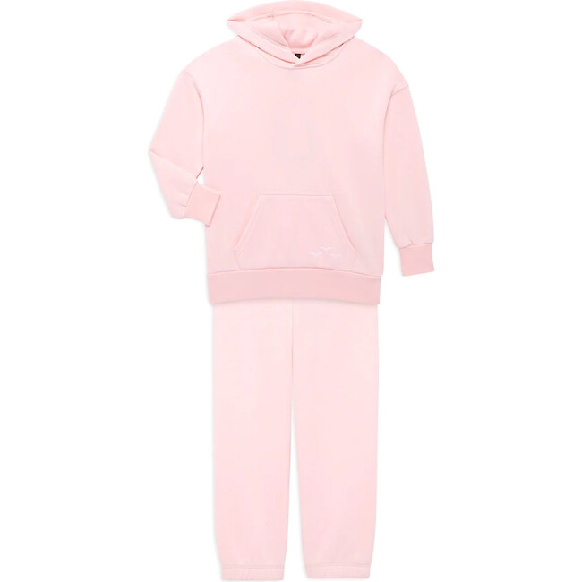 The Niki & Cooper Fleece Set, Petal Pink