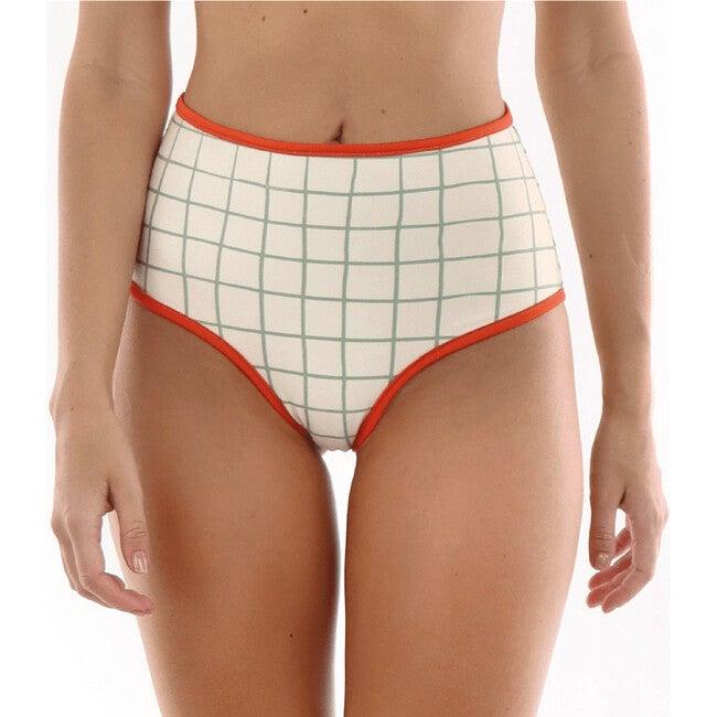 Maria Sicilia Reversible High Waist Bottom, Orange