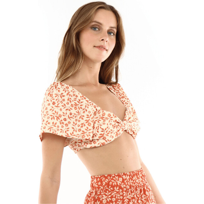 Maria silvia Crop top, Orange