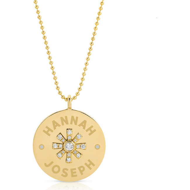 Women's Monogrammable You Are My Sunshine Necklace - Necklaces - 1