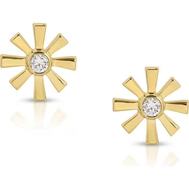 Women's Mini Sunshine Studs - Earrings - 1