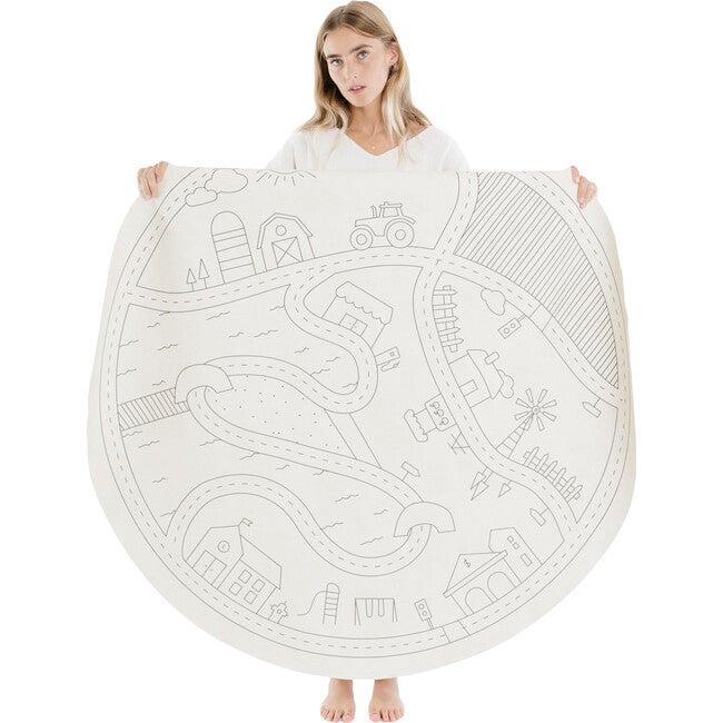 Midi Circle Mat, AJJ Homestead