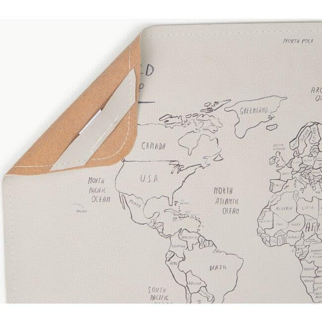 Micro Mat, World Map