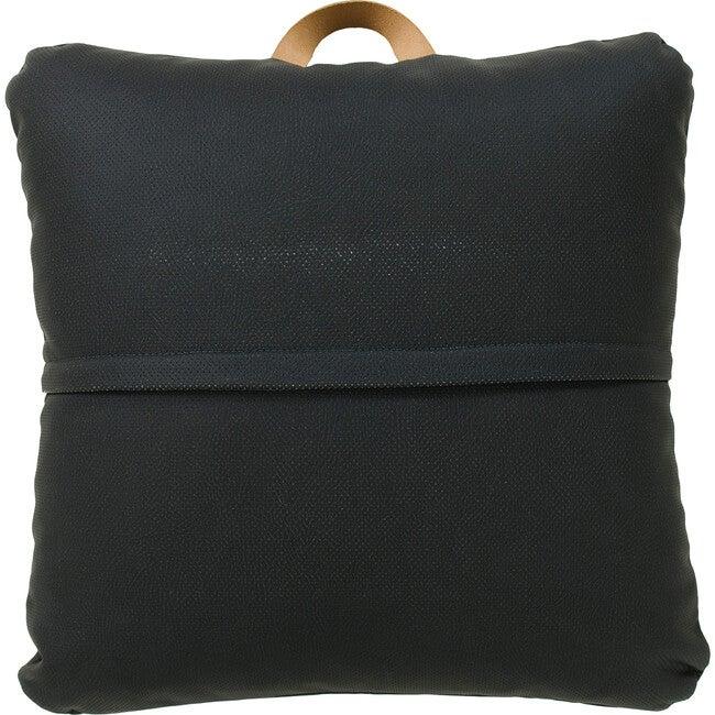 Mini Square Floor Cushion, Raven