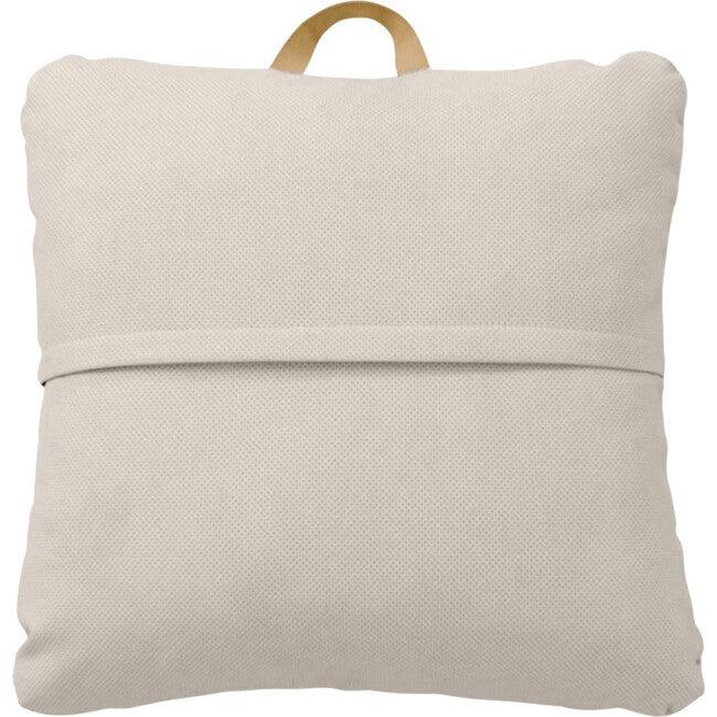 Mini Square Floor Cushion, Fog