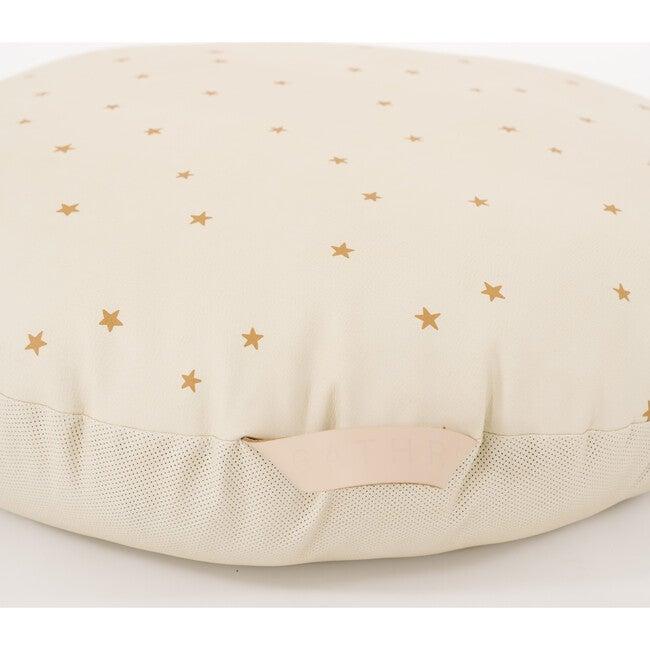 Mini Circle Floor Cushion, Stars