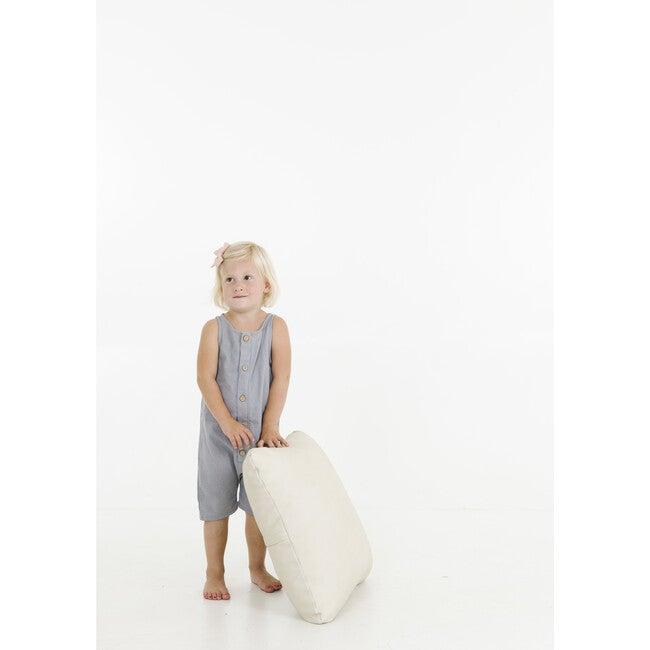 Mini Square Floor Cushion, Blanc