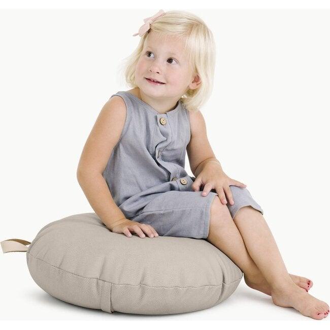 Mini Circle Floor Cushion, Fog