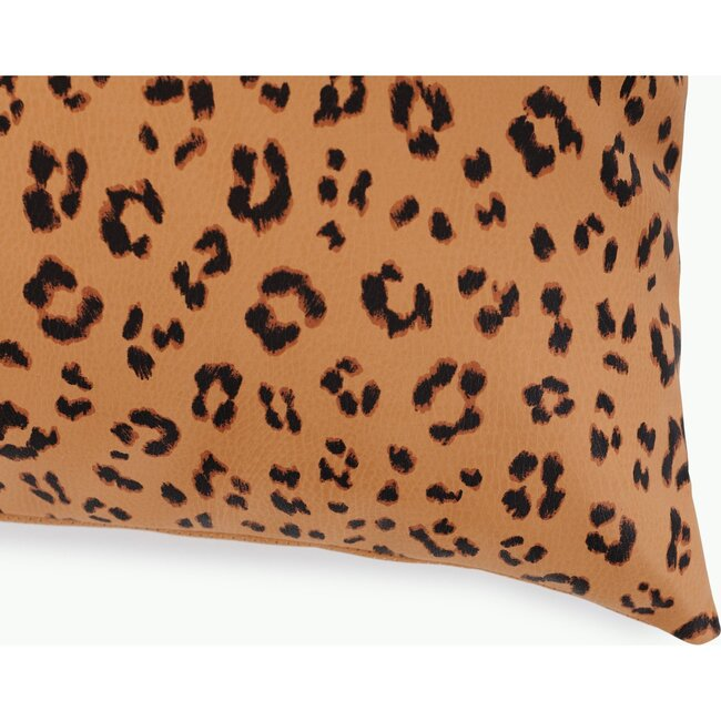 Square Pillow Cover, Leopard