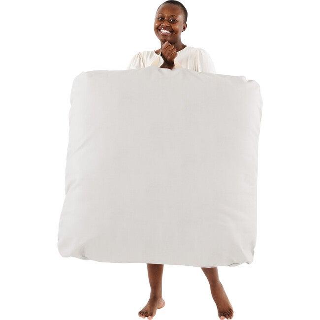 Square Floor Cushion, Gull