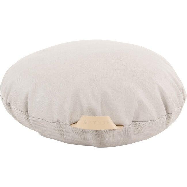 Mini Circle Floor Cushion, Gull