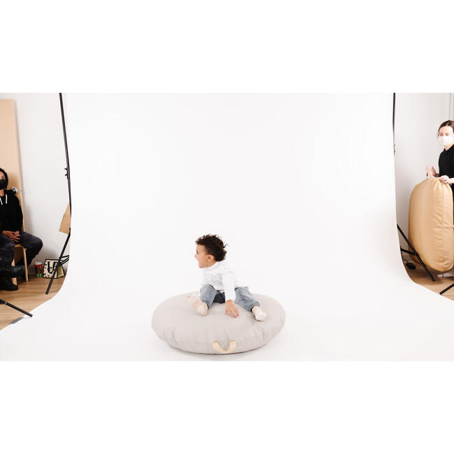 Circle Floor Cushion, Gull